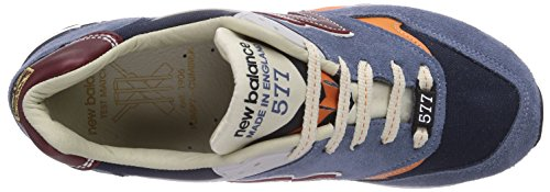 New Balance  577, Sneakers Basses homme TBO blue orange