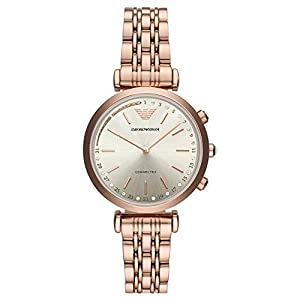 Emporio Armani Womens Smartwatch with Stainless Steel Strap ART3026