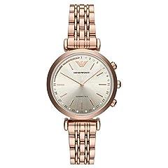 Idea Regalo - Emporio Armani Smartwatch Donna con Cinturino in Acciaio Inox ART3026