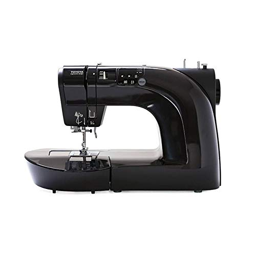 Toyota Oekaki50B - Máquina de coser (50 programas, función de costura sin manos), color negro