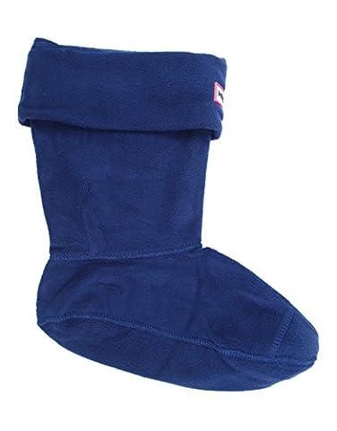 Hunter Short Fleece Sock, Mineral Blue, 6-8 UK /