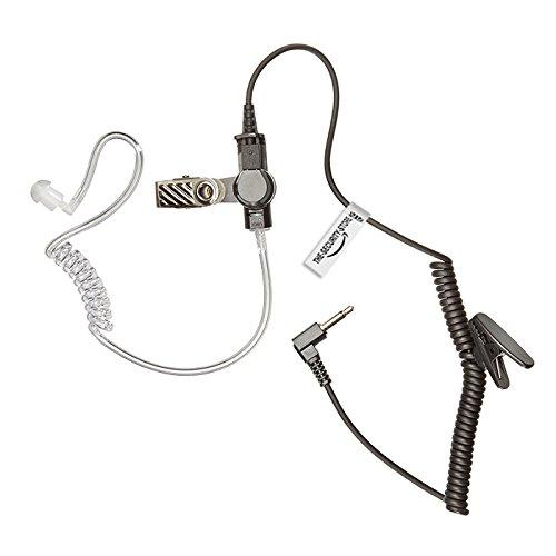Kurz Ohrhörer für 2-poliges MOTOROLA Funkgerät (Motorola Funkgerät Ohrhörer Mit Mikrofon)