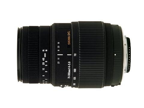 Sigma Objectif Macro 70-300 mm F4-5,6 DG motorisé - Monture Nikon