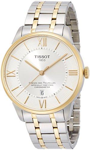 TISSOT - Montre Homme Tissot Chemin Des Tourelles Automatique COSC T0994082203800 Bracelet Acier - T0994082203800