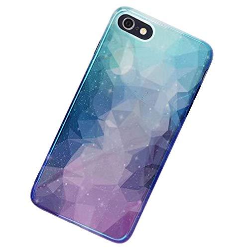MoreChioce kompatibel mit iPhone 6S Hülle,kompatibel mit iPhone 6 Hülle Glitzer, Kreativ 3D Bling Strass Weiche Silikon Handyhülle Glitzern Sparkle TPU Case Defender Bumper,EINWEG