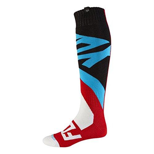 Fox 2017 Herren Motocross / MTB Socken - CREO COOLMAX THICK - rot: Größe Socken: L