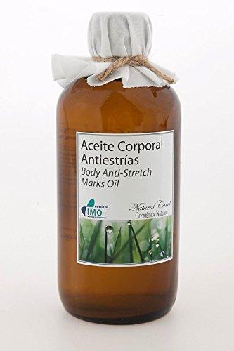Aceite Corporal Antiestrías especial cicatrizante, anti inflamatorio, favorece la hidratación, reduciendo la aparición de estrias