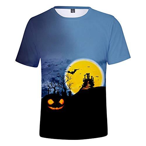 ops Mode-T-Shirts Unterhemden Kurzarm Unisex Neuheit Kostüm HD Anime Druck Halloween ()