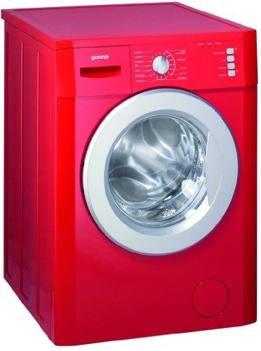Gorenje WA735RD Waschmaschine Frontlader / UseLogic Mengenautomatik / Schaumsensor / feuerrot