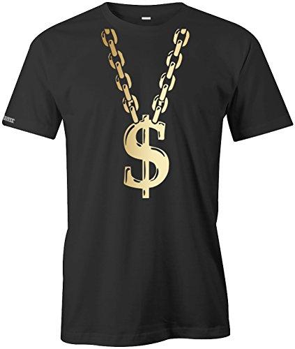Kostüm T Shirt Schwarzes Gangster - Jayess Gangster Rapper - KOSTÜM - Herren - T-Shirt in Schwarz by Gr. XL