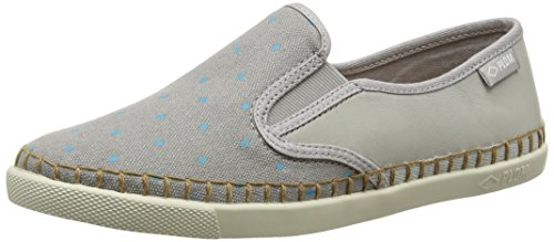 PLDM by Palladium Damen Bora Print Cash Sneaker Gris (C35 Perla/Diamonds)