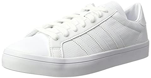 Adidas Men's Bz0441 Low-Top Sneakers, White (Footwear White/Footwear White/Footwear White),