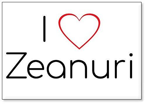 Mundus Souvenirs - Amo Zeanuri, Imán para Nevera (diseño 3)