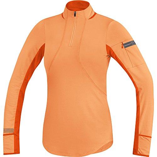 Gore Running Wear Air Maillot à manches longues Femme Arancione