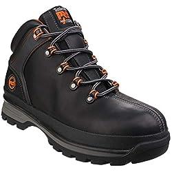 Timberland Pro Hommes Splitrock Xt À Lacet Sécurité Bottes Chaussures Bottines Noir 39