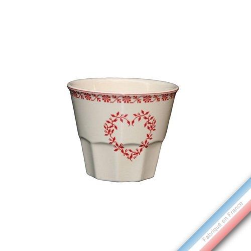 Collection TENDRE ROUGE - Pot confiture - H 8 cm - 0,2 L - Lot de 1