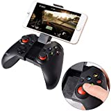 PowMax Gapo PG-9037 Bluetooth Wireless Classic Gamepad Game Controller (with Mouse Function) for Samsung HTC MOTO Addroid TV Box Tablet PC