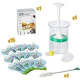 Fill n Squeeze,sistema bolsas de destete, alimentos, bebés refrigerios y viajes