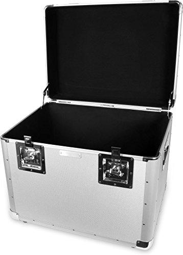 Alukiste flexibel verwendbar als Transportbox und Lagerbox - Alukoffer Lagerkisten Metallkiste Metallbox Aluboxen Alukisten - 120 Liter - mit Moosgummidichtung