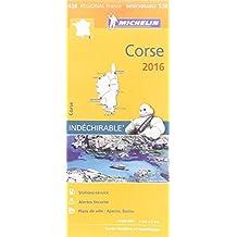 Carte Corse 2016 Michelin