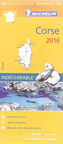 Carte Corse 2016 Michelin par Collectif Michelin
