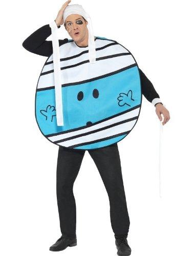 Bump Kostüm Bumpkostüm blau Unfall Gr. M (Mr Bump Kostüm)