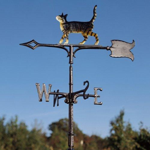 Whitehall Products Wetterfahne für Katzen, freistehend, 76,2 cm, Dachfarbe von Whitehall Products