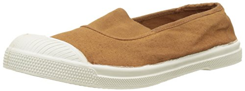 Bensimon Tennis Elastique, Baskets Basses Femme Marron (Marron Cannelle)