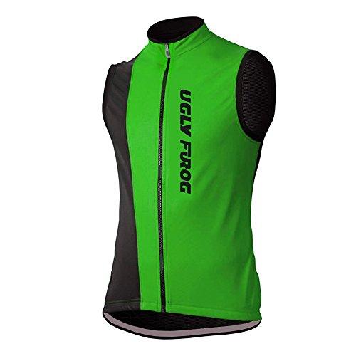 Uglyfrog Maglie da Ciclismo Traspiranti Senza Maniche Maglia da Ciclismo Camicie Cime per Biciclette DXC23