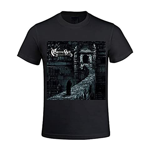 Cypress Hill Iii Temples Of Boom Vintage T Shirts For Herren Crew Neck XXX-Large