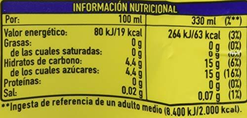Fanta - Limón, Refresco con gas, 330 ml (Pack de 9), Lata
