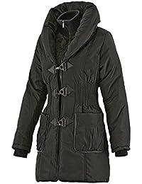 Softly Damen Mantel mit großem Kragen in 5 Farben 5713