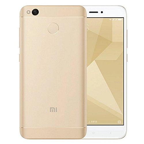 "Xiaomi Redmi 4X Smartphone 32GB  (Dual SIM, 12.7cm (5"") Display, 13MP Kamera, Android 6.0) Gold"