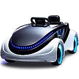 Ayy Science-Fiction-Elektroauto Vierrädriger Fernbedienung Baby kann auf dem Spielzeug-Auto Kinder-Elektro-Kinderwagen sitzen