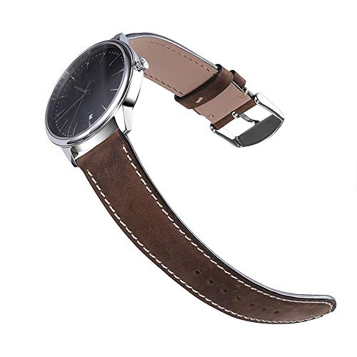 Watch Band Assolutely Leather Strap Bracelet 18mm 19mm 20mm 21mm 22mm Steel Pin Change Buckle Normal Chimera