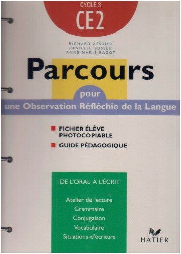 Parcours : Français, CE2 (Manuel du professeur, fiches)