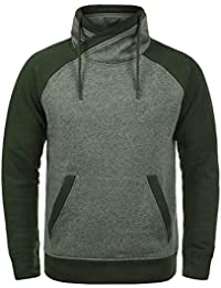 f602fa4e497d3e JACK   JONES Core Ridge Herren Sweatpullover Pullover Mit Cross-Over Kragen  Stehkragen