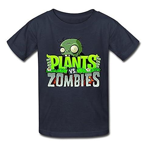 catees pour plantes VS Zombies 2T-shirt avec logo pour homme - Bleu - M