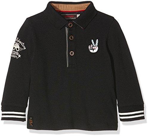 Catimini Baby-Jungen Poloshirt CI11062, Schwarz-Noir (Nuit), 92