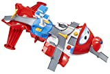 Super Wings - Jett\'s Takeoff Tower 2-in-1 Toy Playset   Includes Figure   Pop \'n Transform Scale