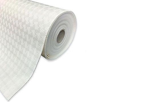 BIANCHERIAWEB Mollettone Gommato Antiscivolo Colore Bianco 140x230 Bianco