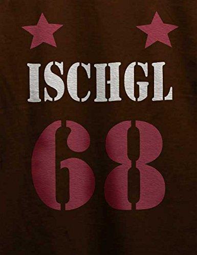 Ischgl Trikot 68 T-Shirt Braun