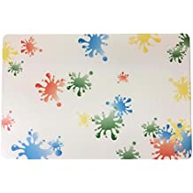 Lamdoo Verschiedene Airbrush Malerei Schablone Scrapbooking Album Craft Art DIY Home Decor wei/ß A: 31x21cm//12.2x8.27 Plastik