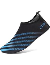 FELOVE Water Shoes,Beach Surf Diving Swim Running Snorkeling Barefoot Skin Shoes, Home Slipper Yoga Socks For Men & Women,Neoprene Rubber Sole Aqua Socks