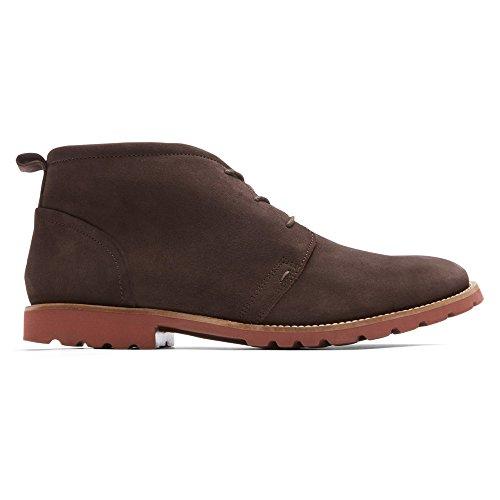 Rockport - Channer Schuhe Dark Bitter Chocolate/Brick