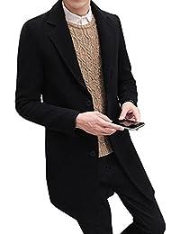Amazon Fr Manteau Mi Long Manteaux Et Blousons Homme Vetements