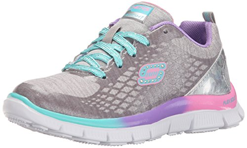 Skechers Appeal Surprise N'shine, Sneakers Basses fille Argent