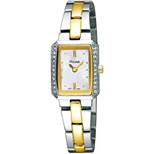 Pulsar Uhren Damen-Armbanduhr Modern Analog Quarz Edelstahl PEGF77X1