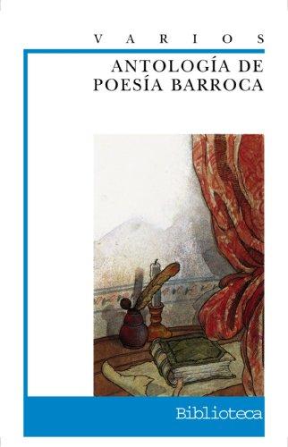 Antología de poesía barroca (Clásicos - Biblioteca Didáctica Anaya) por Varios