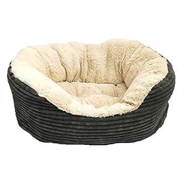 Rosewood Plush Dog Bed